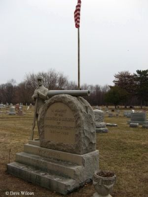 Springport (MI) and Vicinity Civl War Memorial Marker image. Click for full size.