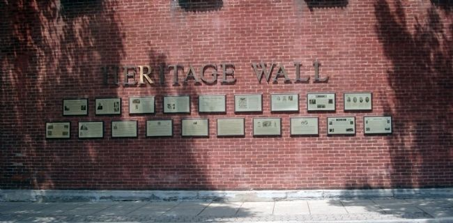 """Heritage Wall"" image. Click for full size."