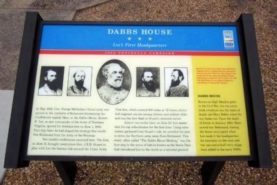 New Dabbs House CWT Marker Photo, Click for full size