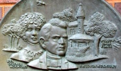 McKnight Art Center Marker Relief Photo, Click for full size