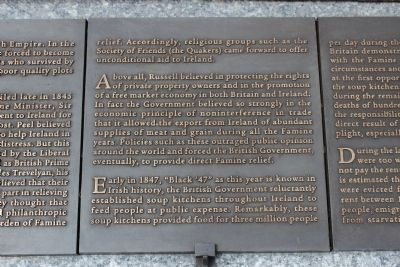 Rhode Island Irish Famine Memorial Marker 3 of 10 image. Click for full size.