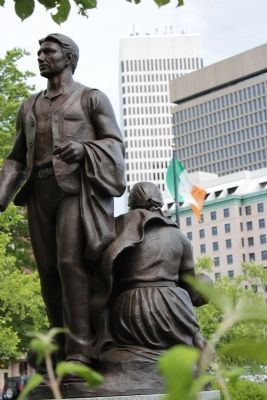 Rhode Island Irish Famine Memorial image. Click for full size.