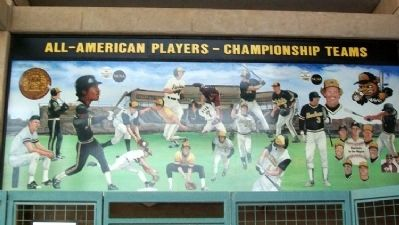 WSU All Americans Mural at Eck Stadium image. Click for full size.