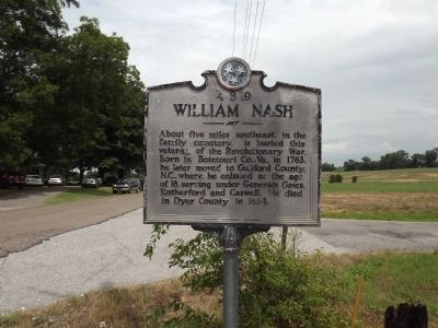 William Nash Marker image. Click for full size.