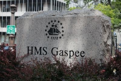 HMS Gaspee Marker image. Click for full size.