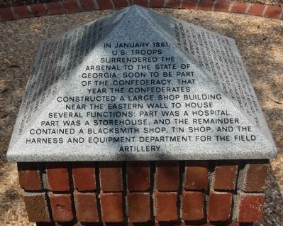 Augusta Arsenal Marker image. Click for full size.