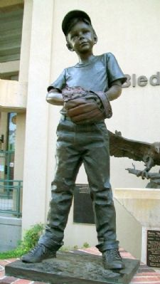 """First Mitt"" by George Lundeen image. Click for full size."
