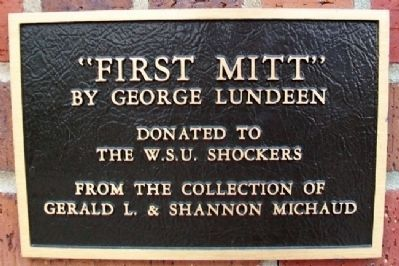 """First Mitt"" Marker image. Click for full size."