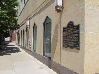 Northern Building and Marker image. Click for full size.