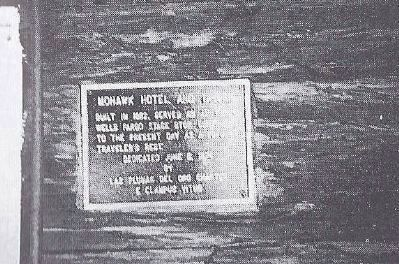 Mohawk Hotel and Tavern Marker image. Click for full size.
