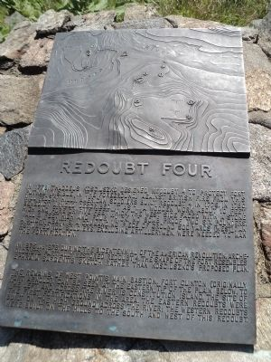 Redoubt Four Marker image. Click for full size.