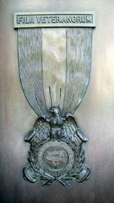 Civil War Soldiers and Sailors Memorial S.V. Emblem Photo, Click for full size