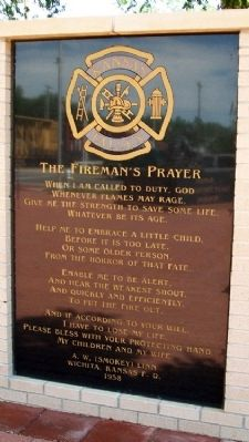The Fireman's Prayer image. Click for full size.