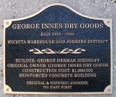 George Innes Dry Goods Marker Photo, Click for full size