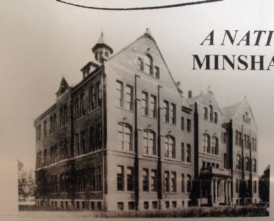 "Marker Photo - - "" Minshall Laboratory "" image. Click for full size."