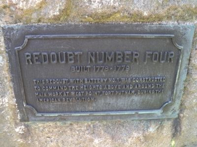 Redoubt Number Four Marker image. Click for full size.