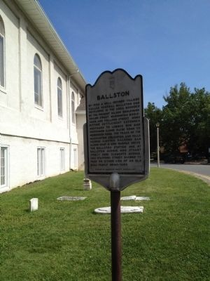 Ballston Marker Photo, Click for full size