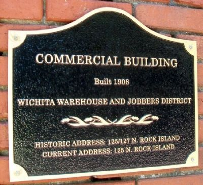 Commercial Building Marker Photo, Click for full size