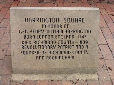 Harrington Square Marker Photo, Click for full size