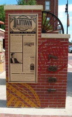 Oldtown Marketplace Marker Photo, Click for full size