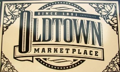 Oldtown Marketplace Logo on Marker Photo, Click for full size