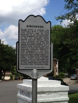 Birchwood Marker image. Click for full size.