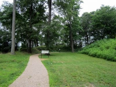 Fort Brady Trail image. Click for full size.