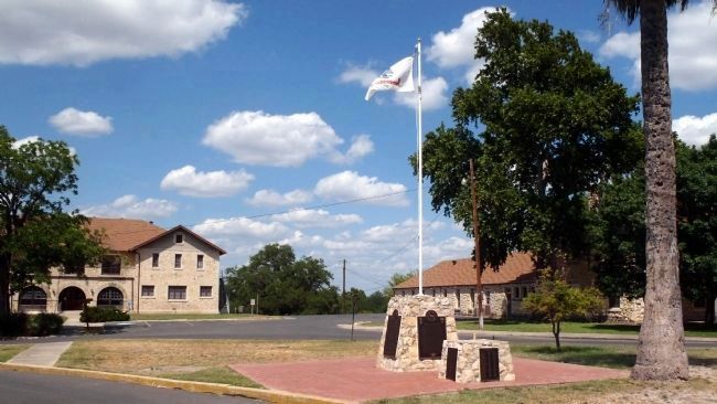 U.S. Army Unit Memorial, Fort Clark, Texas image. Click for full size.