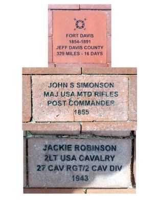 U.S. Army Unit Memorial Bricks Photo, Click for full size
