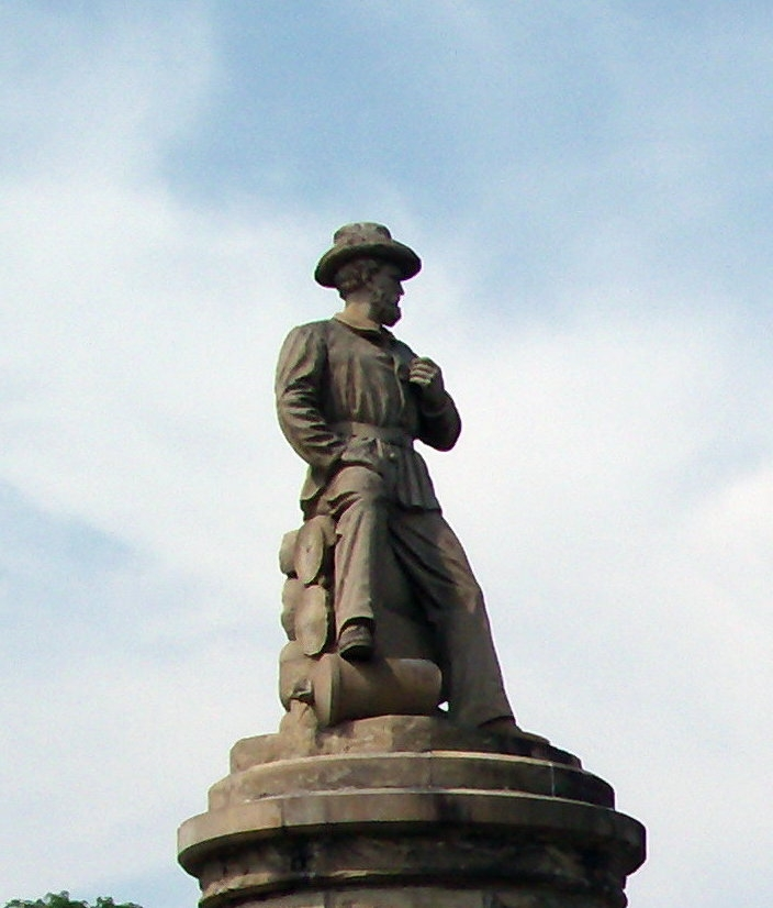 Profile View - Top Statue