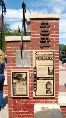 Coleman Company Marker Photo, Click for full size