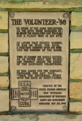 The Volunteer – '98 Marker image. Click for full size.