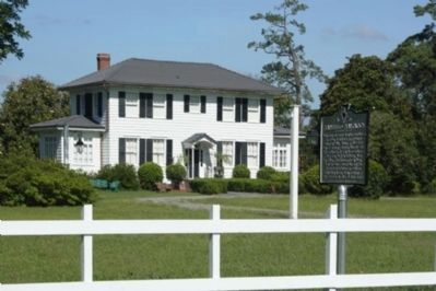 Present Plainsfield Plantation Site and Marker Photo, Click for full size
