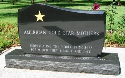 American Gold Star Mothers Memorial image. Click for full size.