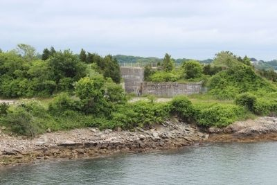 Smaller Eastern Portion of Fort Wetherill image. Click for full size.