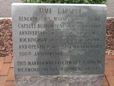 Time Capsule Marker Photo, Click for full size