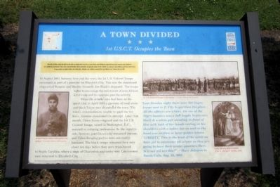 A Town Divided CWT Marker image. Click for full size.