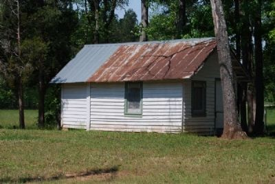 Tin-roofed Cabin at South End of Camp image. Click for full size.