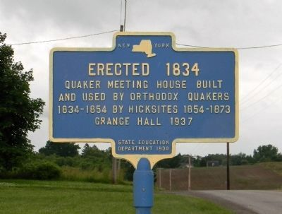 Erected 1834 Marker Photo, Click for full size