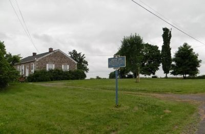 Wide view of the Erected 1834 Marker Photo, Click for full size