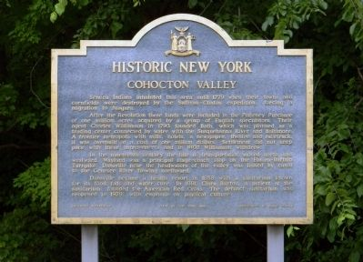 Cohocton Valley Marker image. Click for full size.