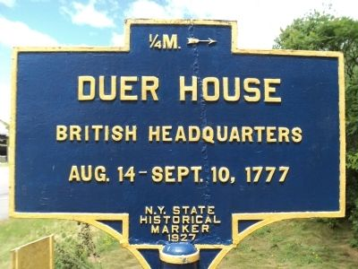 Duer House Marker image. Click for full size.