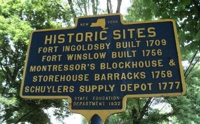 Historic Sites Marker Photo, Click for full size