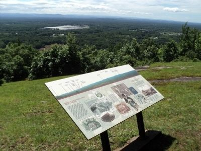 Marker at the Eastern Outlook Photo, Click for full size