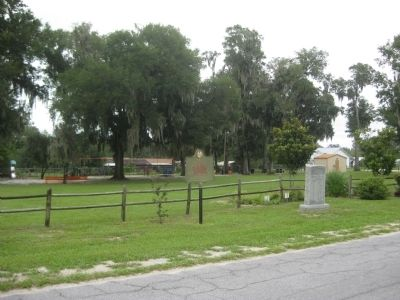 Site of Fort Meade Marker image. Click for full size.