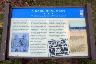A Rare Monument Marker Photo, Click for full size