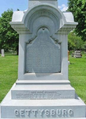 Civil War Monument Marker image. Click for full size.
