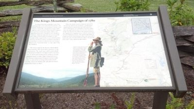 The Kings Mountain Campaign of 1780 Marker image. Click for full size.