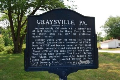 Graysville, PA Marker image. Click for full size.