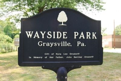 Wayside Park Marker image. Click for full size.